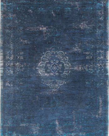 rug Louis De Poortere LX8254 Fading World Medaillon Blue Night