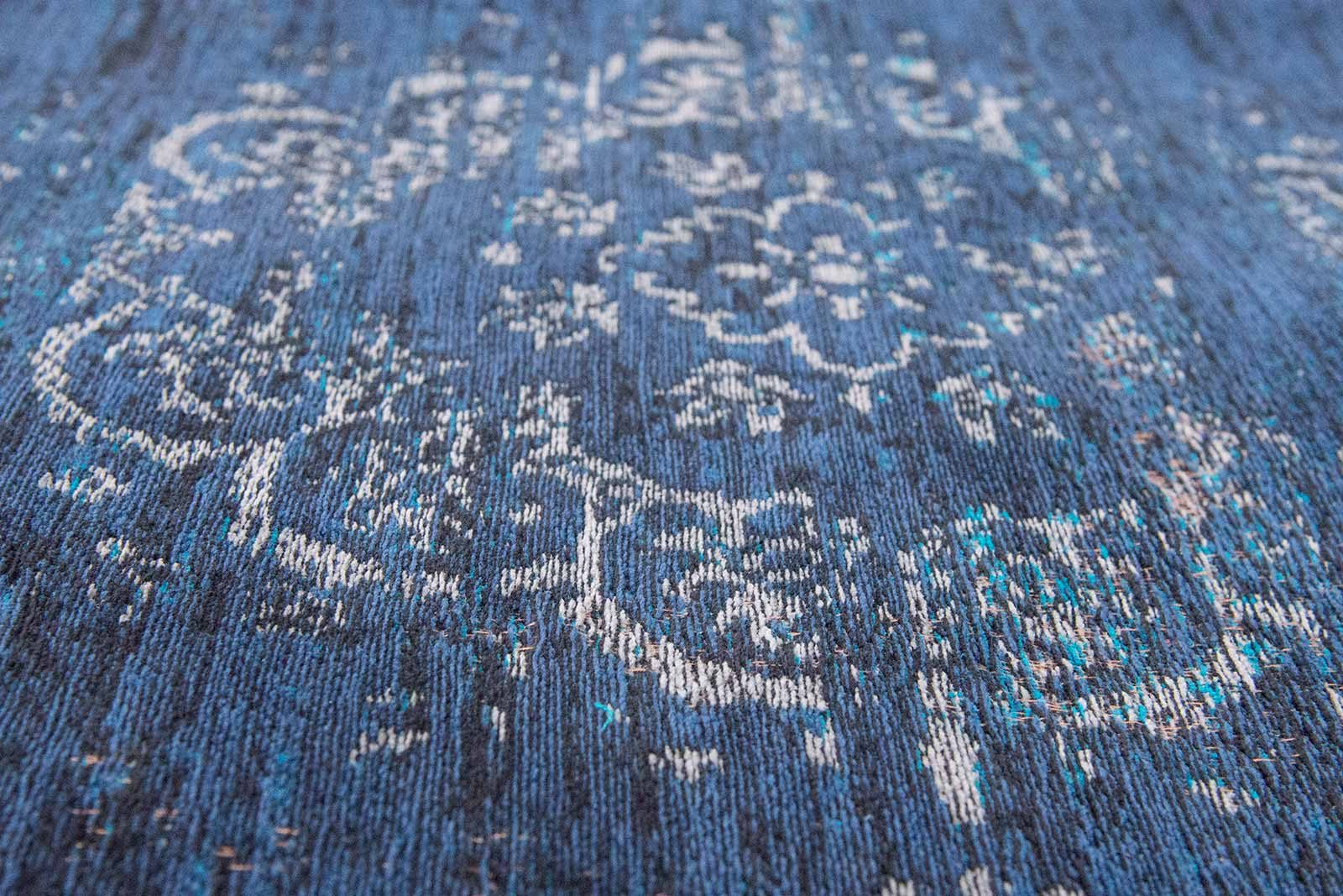 rug Louis De Poortere LX8254 Fading World Medaillon Blue Night zoom