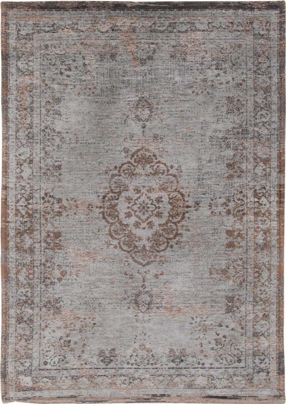 rugs Louis De Poortere LX8257 Fading World Medaillon Grey Ebony