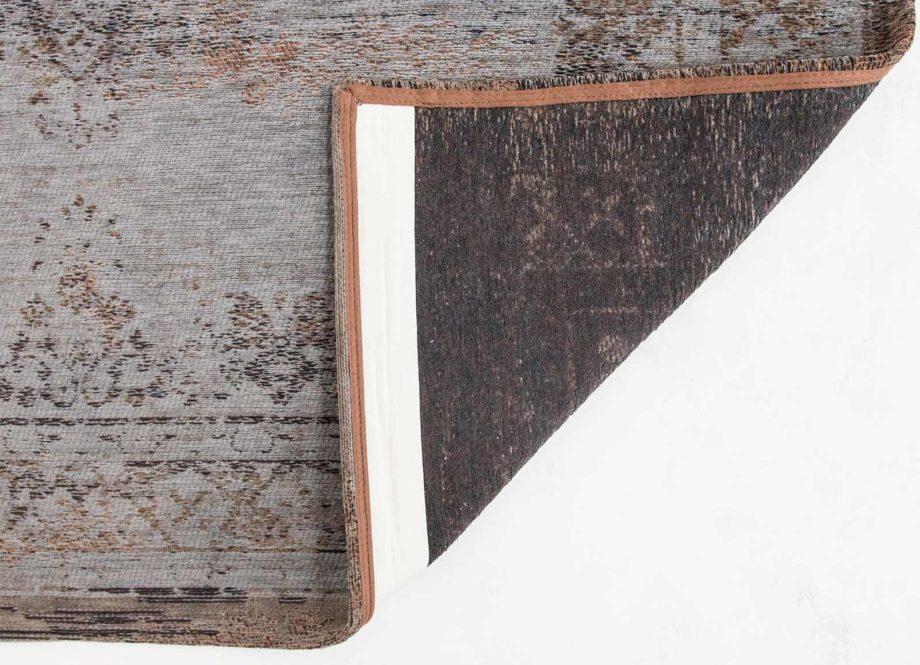 rugs Louis De Poortere LX8257 Fading World Medaillon Grey Ebony back