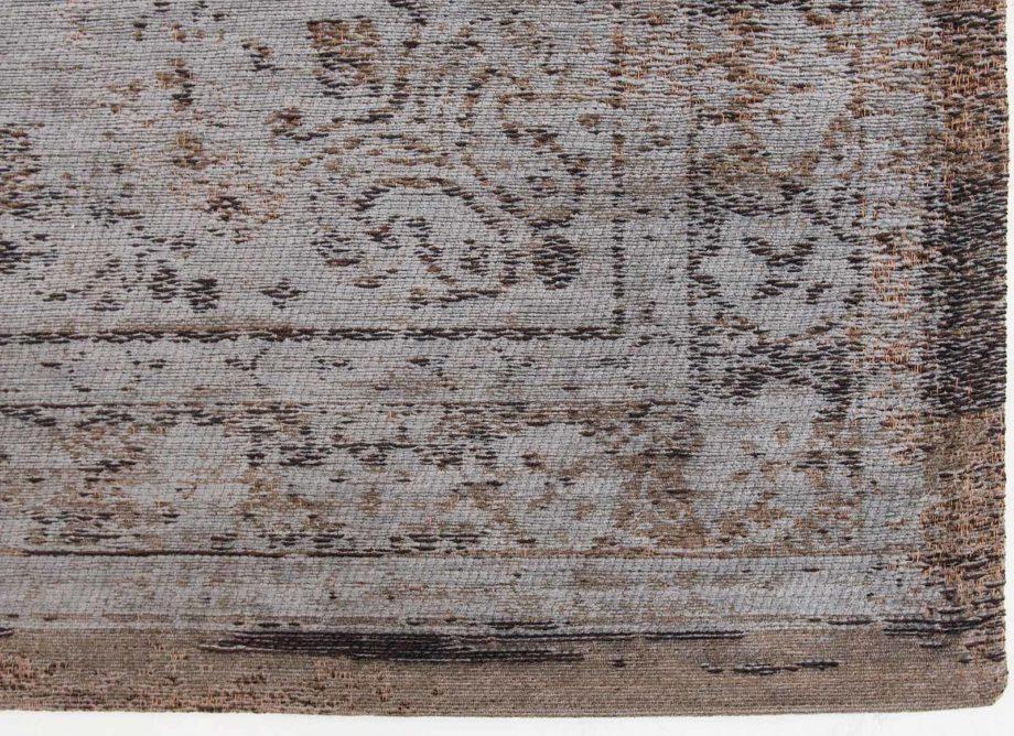 rugs Louis De Poortere LX8257 Fading World Medaillon Grey Ebony corner