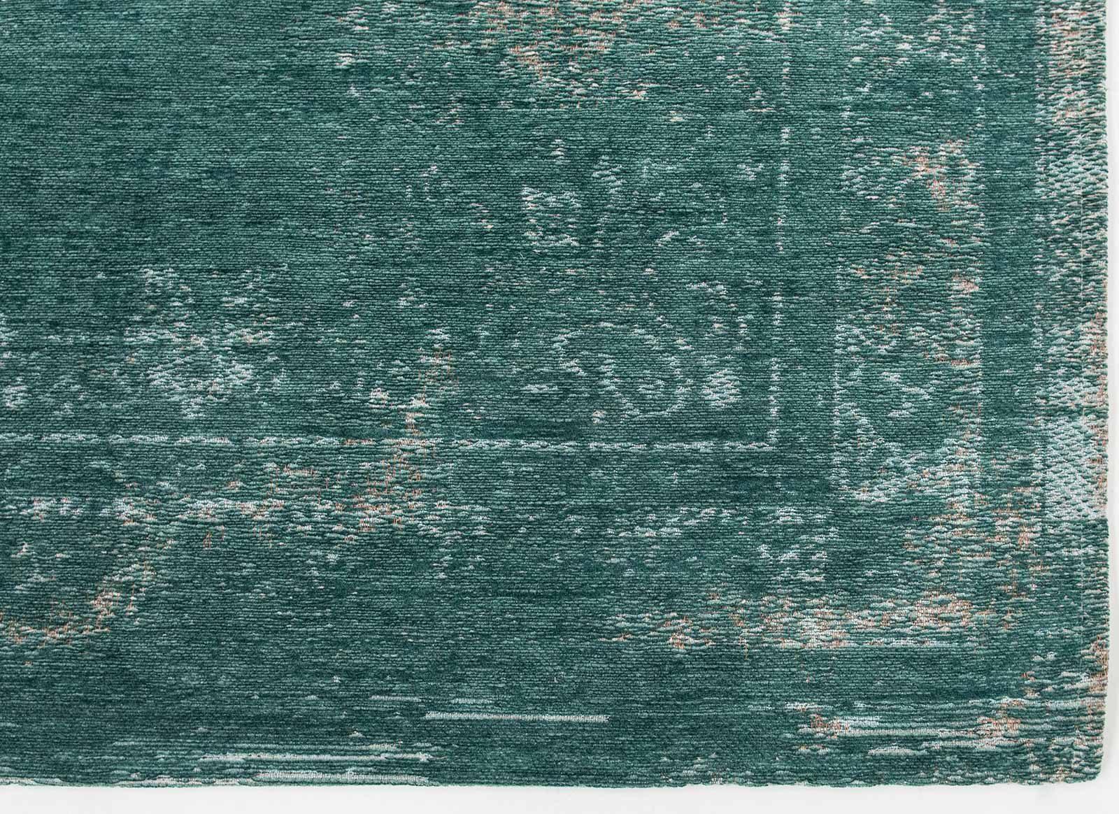 rug Louis De Poortere LX8258 Fading World Medaillon Jade corner