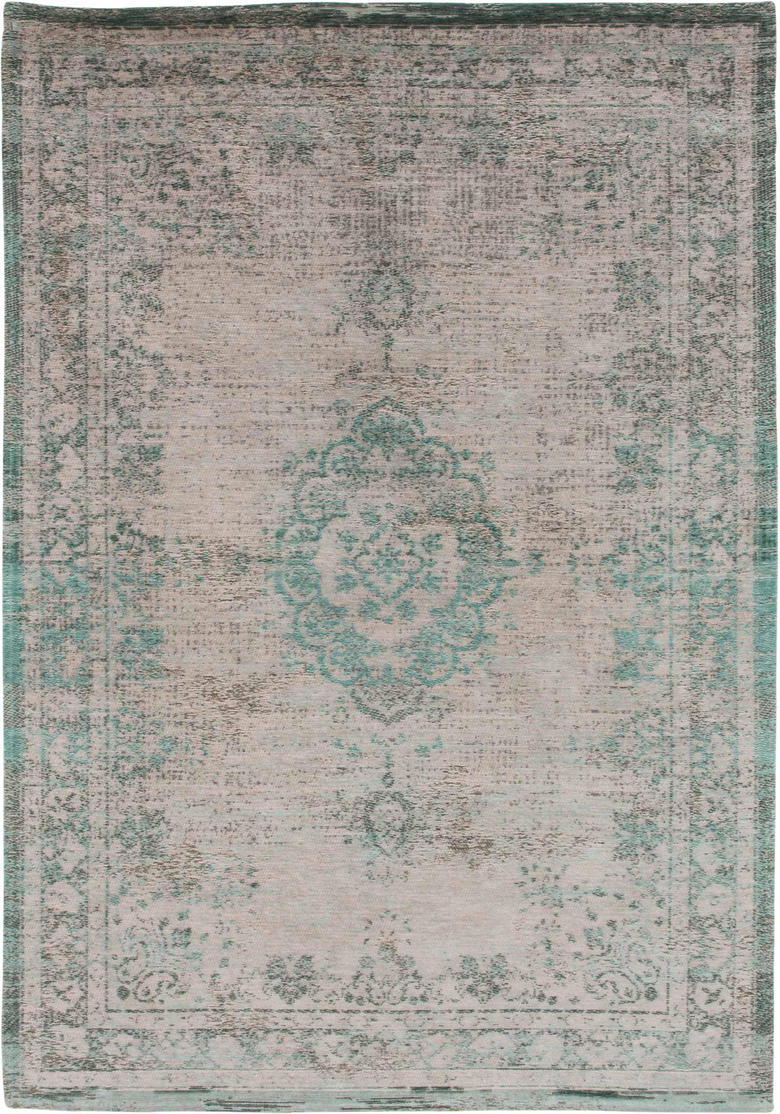 rug Louis De Poortere LX8259 Fading World Medaillon Jade Oyster