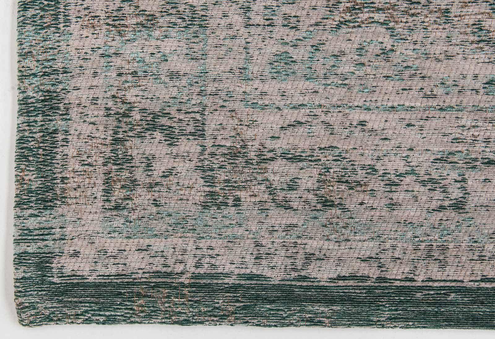 rug Louis De Poortere LX8259 Fading World Medaillon Jade Oyster corner