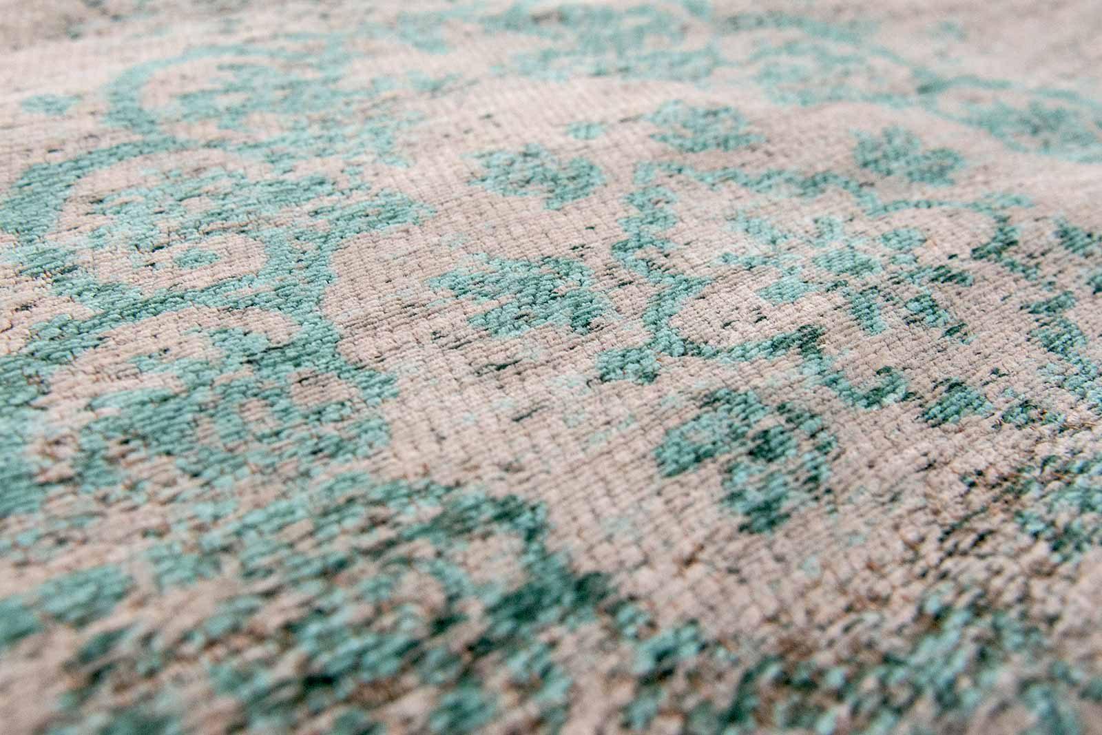 rug Louis De Poortere LX8259 Fading World Medaillon Jade Oyster zoom