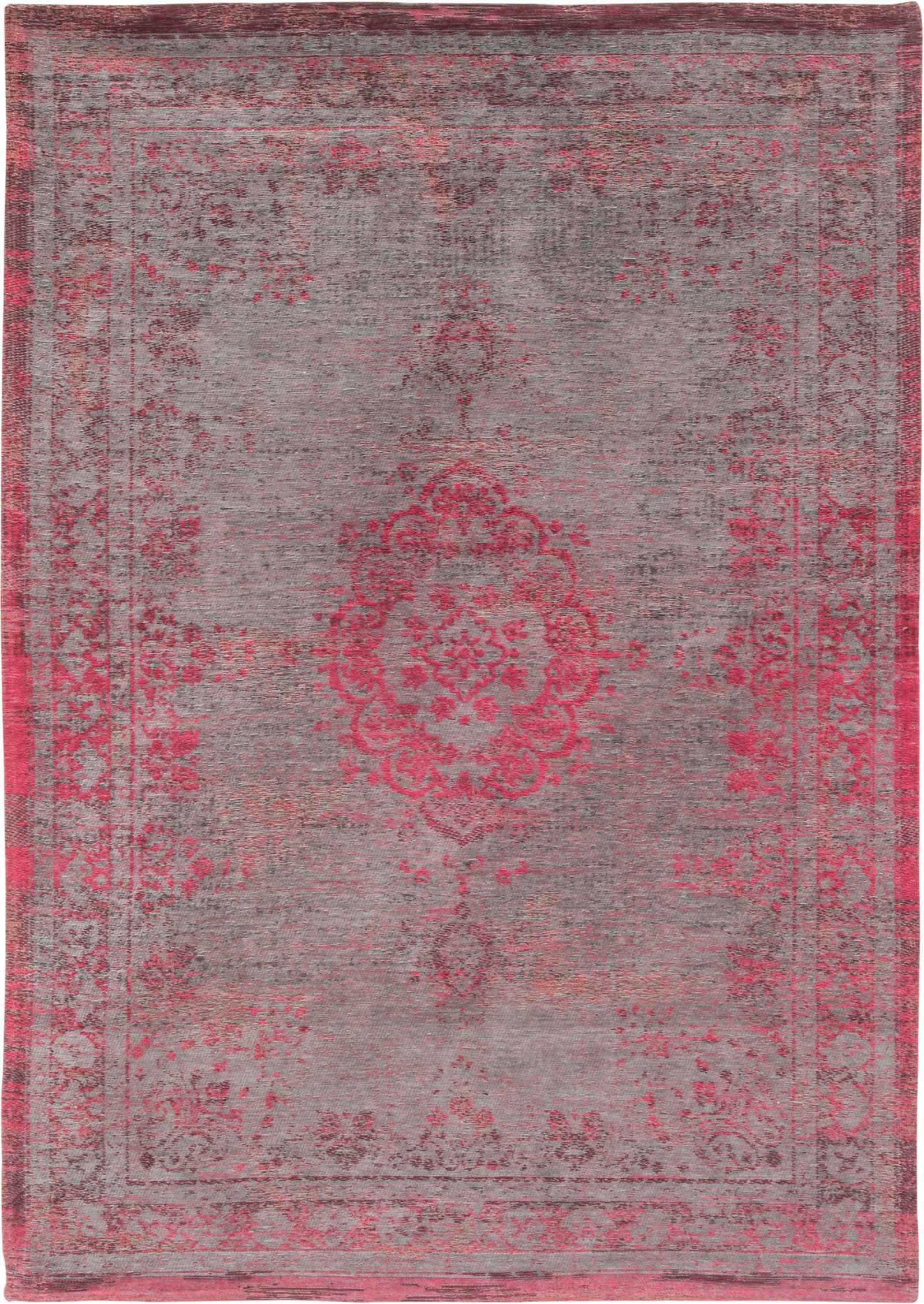rug Louis De Poortere LX8261 Fading World Medaillon Pink Flash