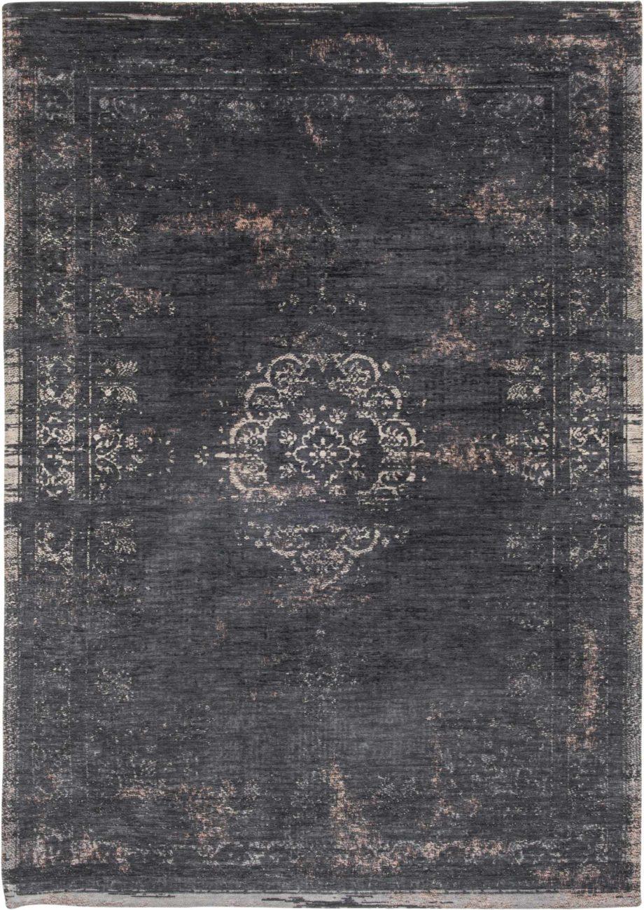 rug Louis De Poortere LX8263 Fading World Medaillon Mineral Black