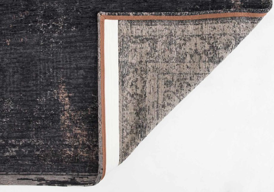 rug Louis De Poortere LX8263 Fading World Medaillon Mineral Black black