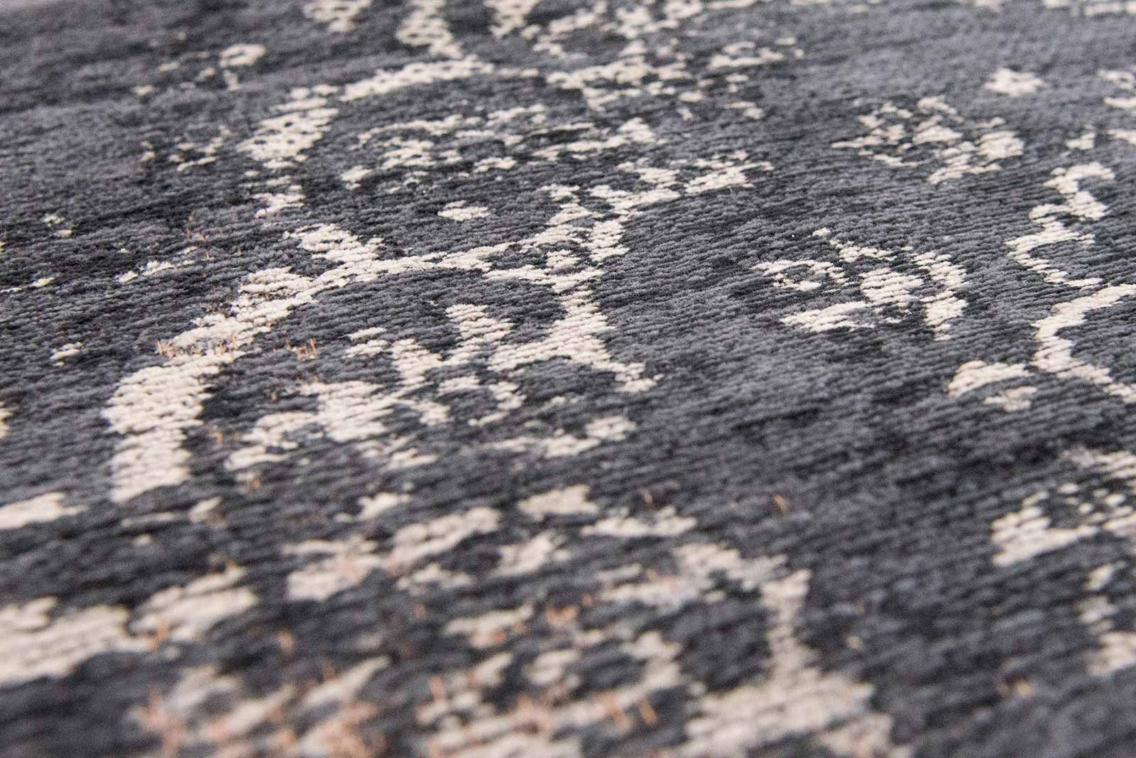 rug Louis De Poortere LX8263 Fading World Medaillon Mineral Black zoom