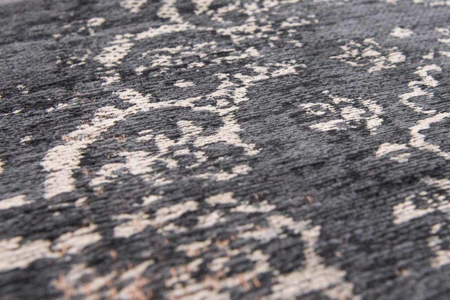 rug Louis De Poortere LX8263 Fading World Medaillon Mineral Black zoom