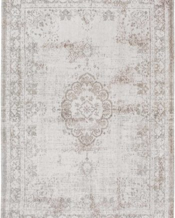 rugs Louis De Poortere LX8383 Fading World Medaillon Salt Pepper