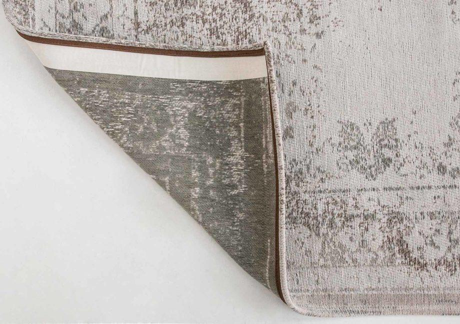 rugs Louis De Poortere LX8383 Fading World Medaillon Salt Pepper back