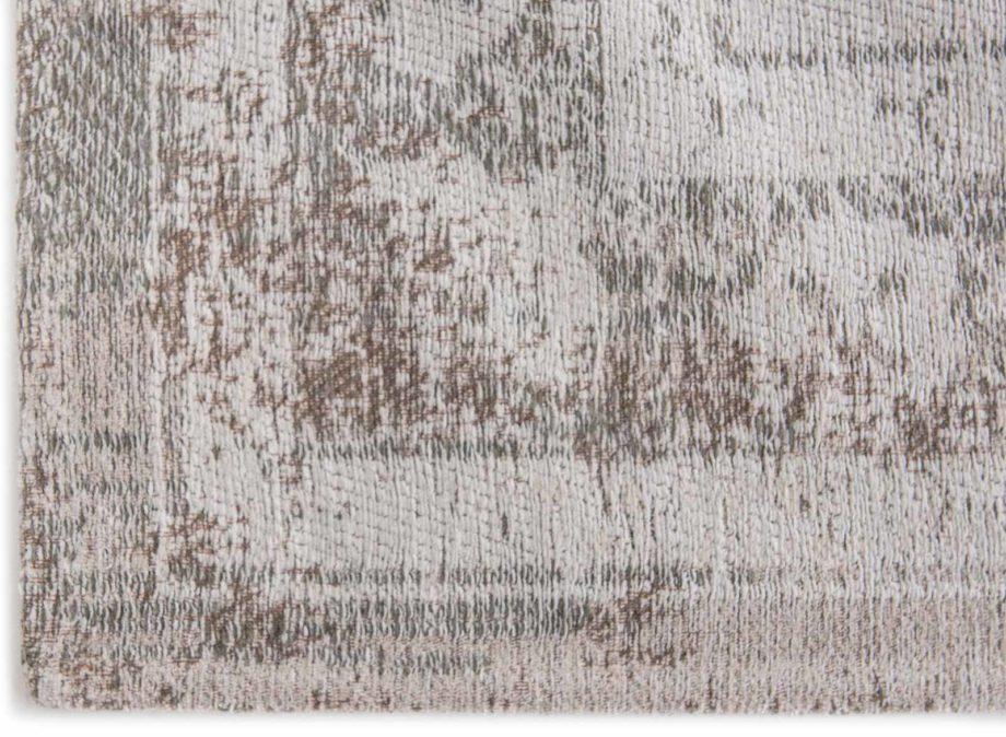 rugs Louis De Poortere LX8383 Fading World Medaillon Salt Pepper corner