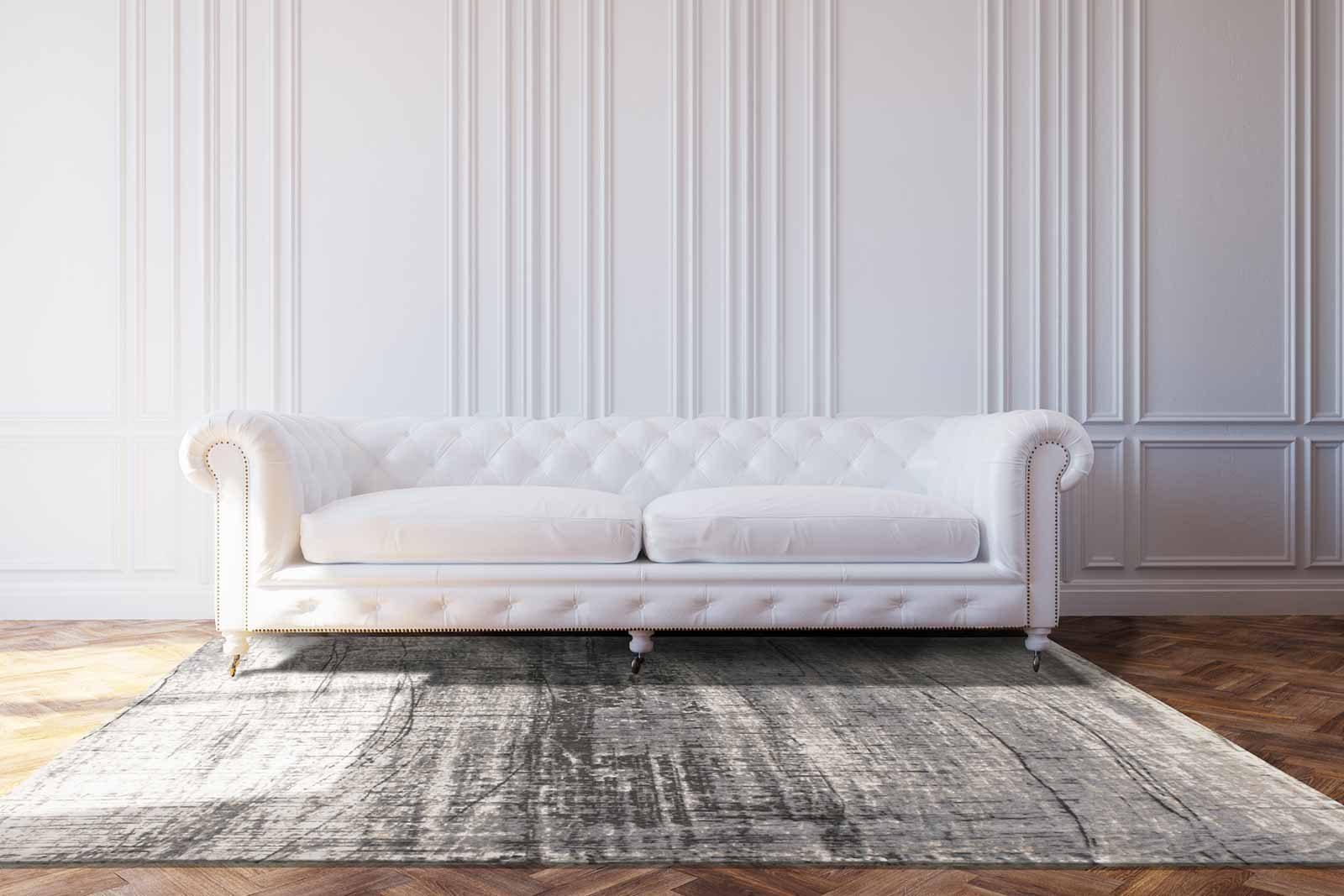 rugs Louis De Poortere LX8420 Mad Men Griff Jersey Stone interior