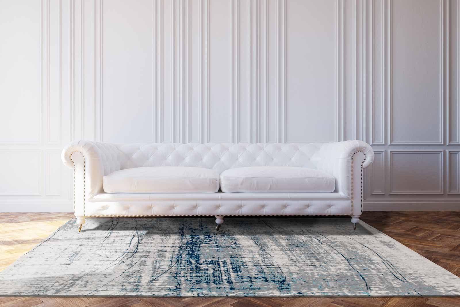 rugs Louis De Poortere LX8421 Mad Men Griff Bronx Azurite interior