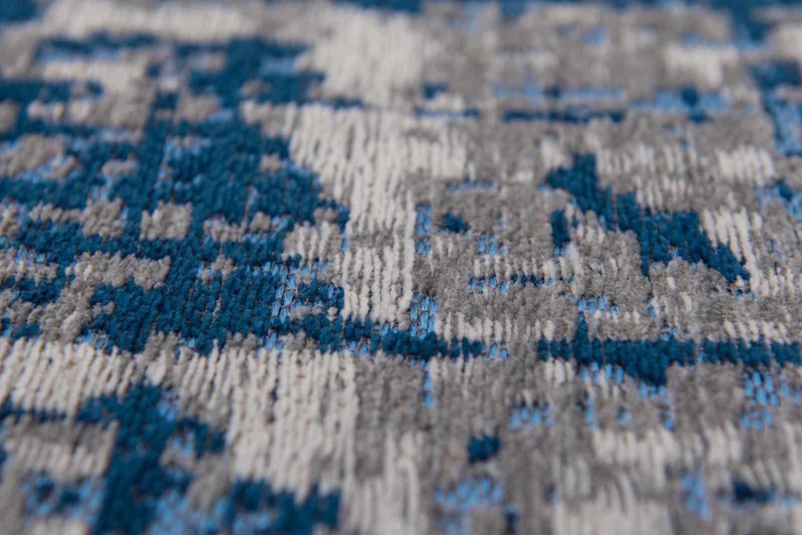 rugs Louis De Poortere LX8421 Mad Men Griff Bronx Azurite zoom