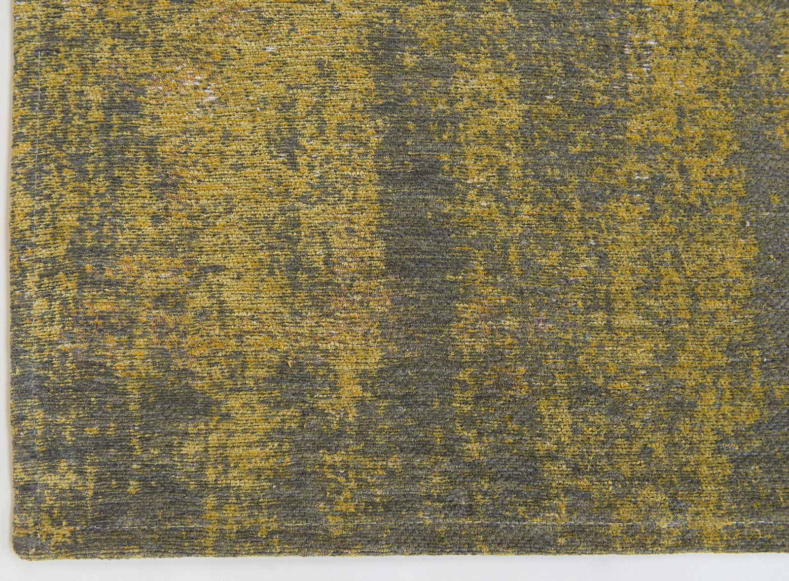 rugs Louis De Poortere LX8638 Fading World Generation Yuzu Cream corner