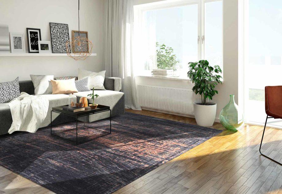 rugs Louis De Poortere LX8925 Mad Men Griff Soho Copper interior