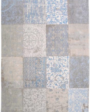 rugs Louis De Poortere LX8237 Cameo Gustavian Blue