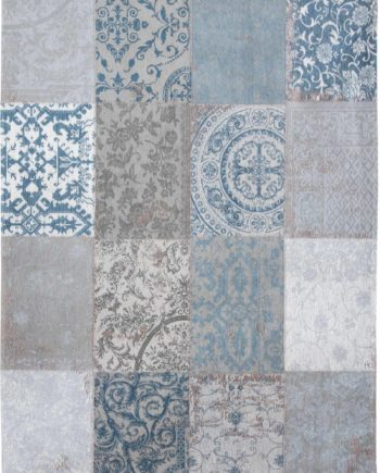 rugs Louis De Poortere LX8981 Vintage Bruges Blue