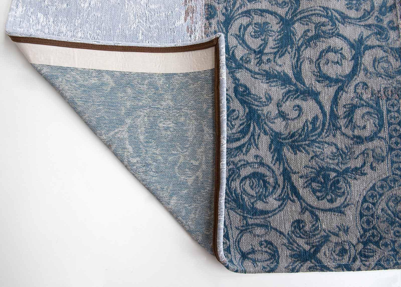 rugs Louis De Poortere LX8981 Vintage Bruges Blue corner