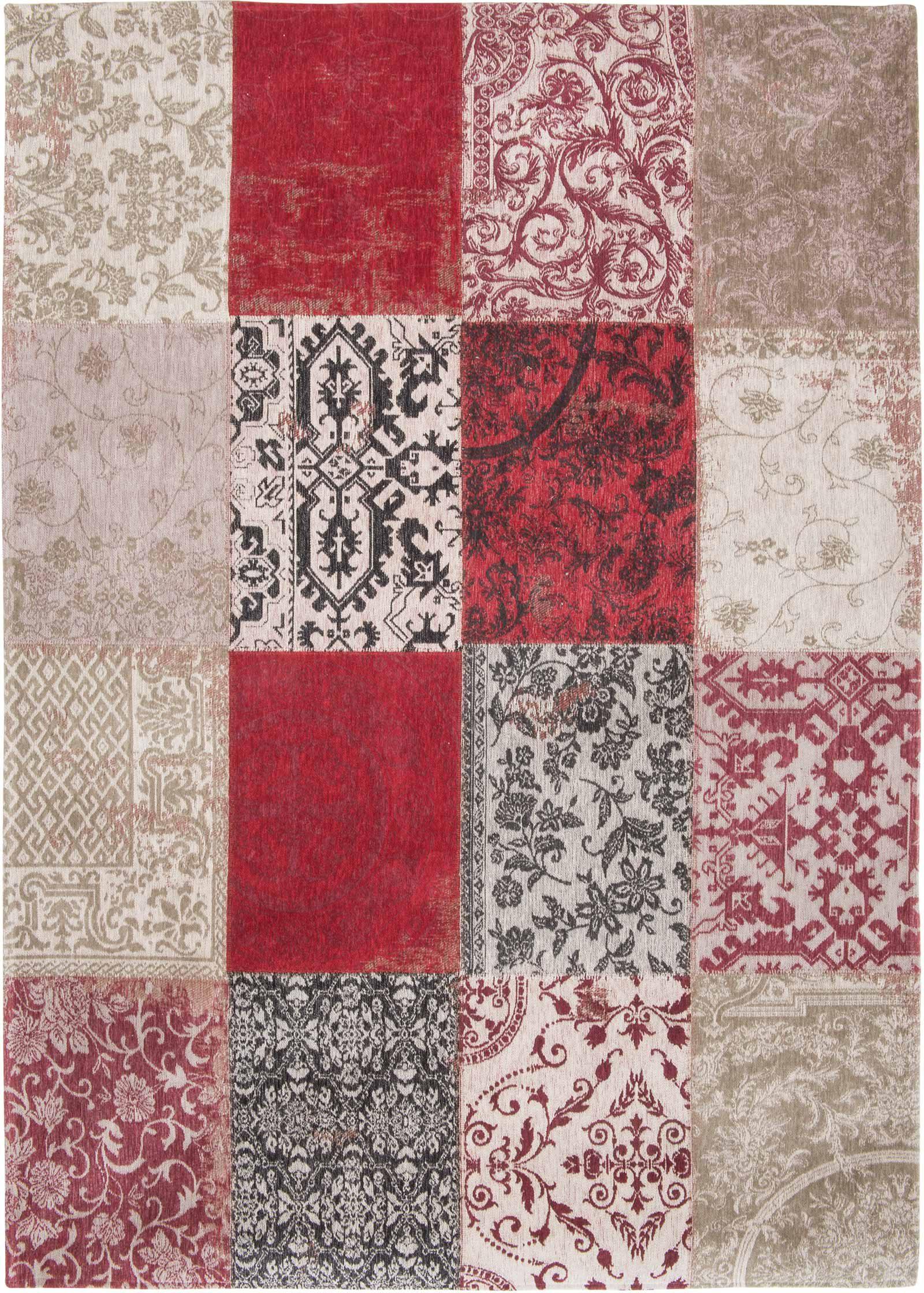 rugs Louis De Poortere LX8985 Vintage Antwerp Red