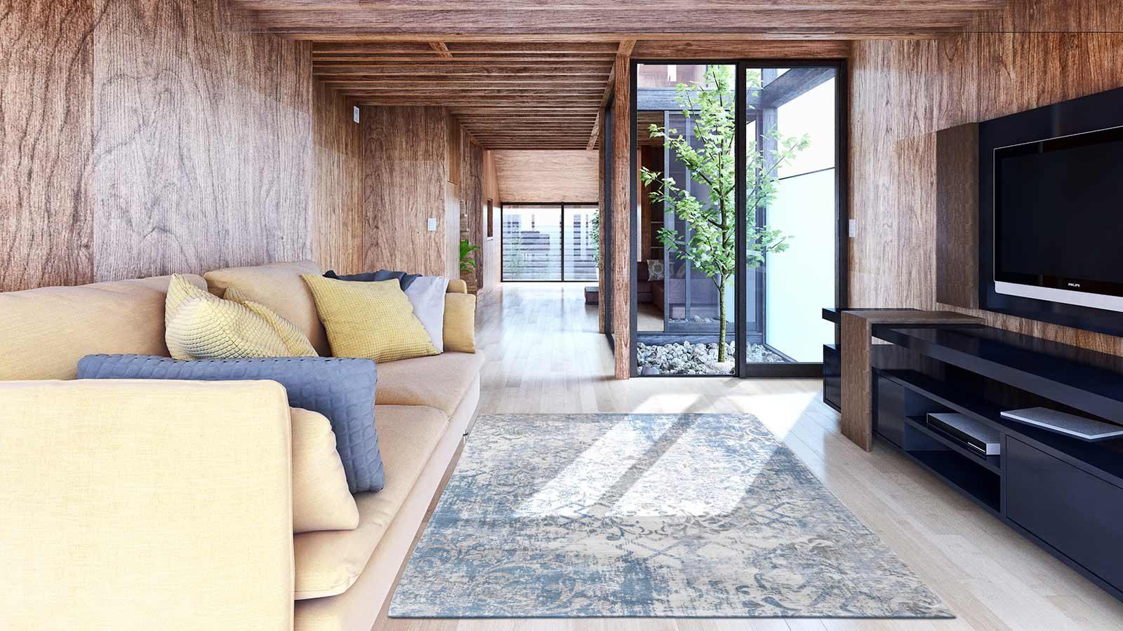 rugs Louis De Poortere LX8545 Fading World Babylon Alhambra interior