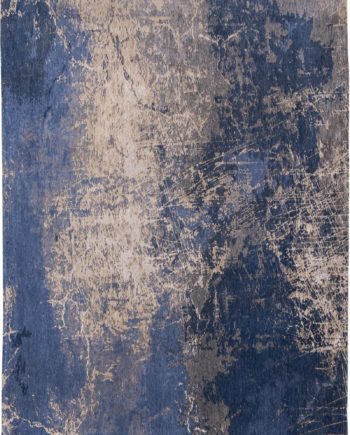rugs Louis De Poortere LX8629 Mad Men Cracks Abyss Blue
