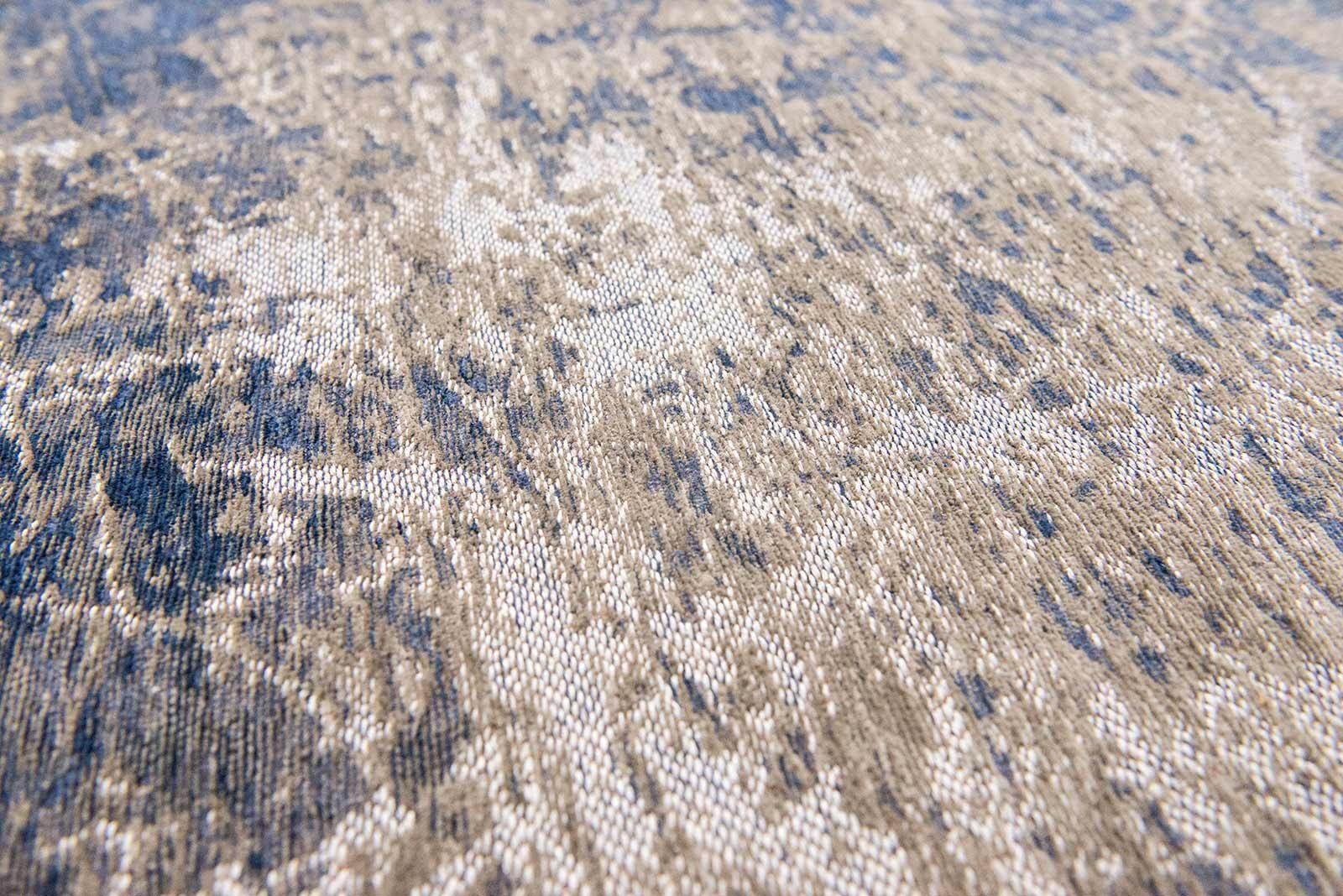 rugs Louis De Poortere LX8629 Mad Men Cracks Abyss Blue zoom 2