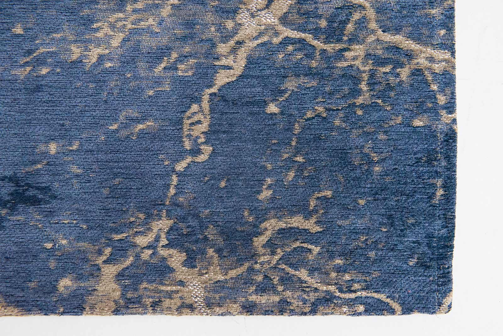 rugs Louis De Poortere LX8629 Mad Men Cracks Abyss Blue zoom 3