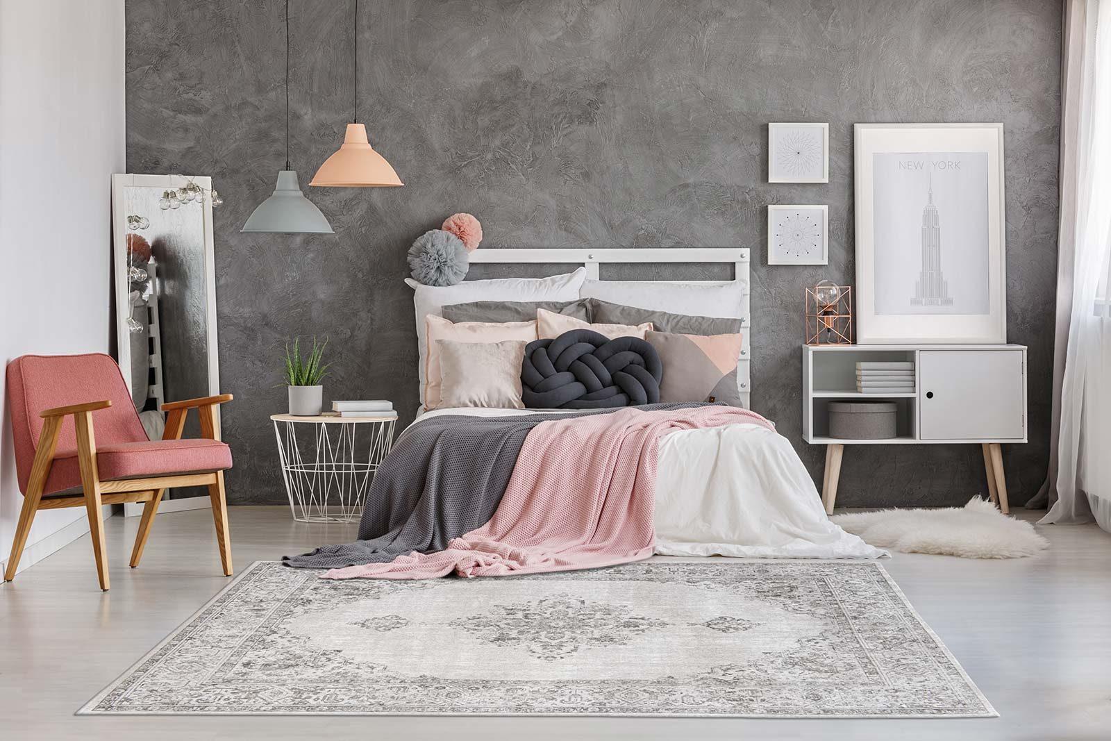 rugs Louis De Poortere LX8668 Fairfield Pale interior