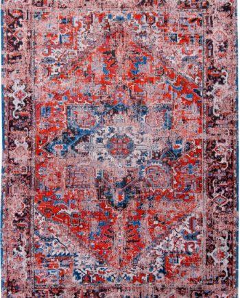 rugs Louis De Poortere LX8703 Antiquarian Antique Heriz Classic Brick