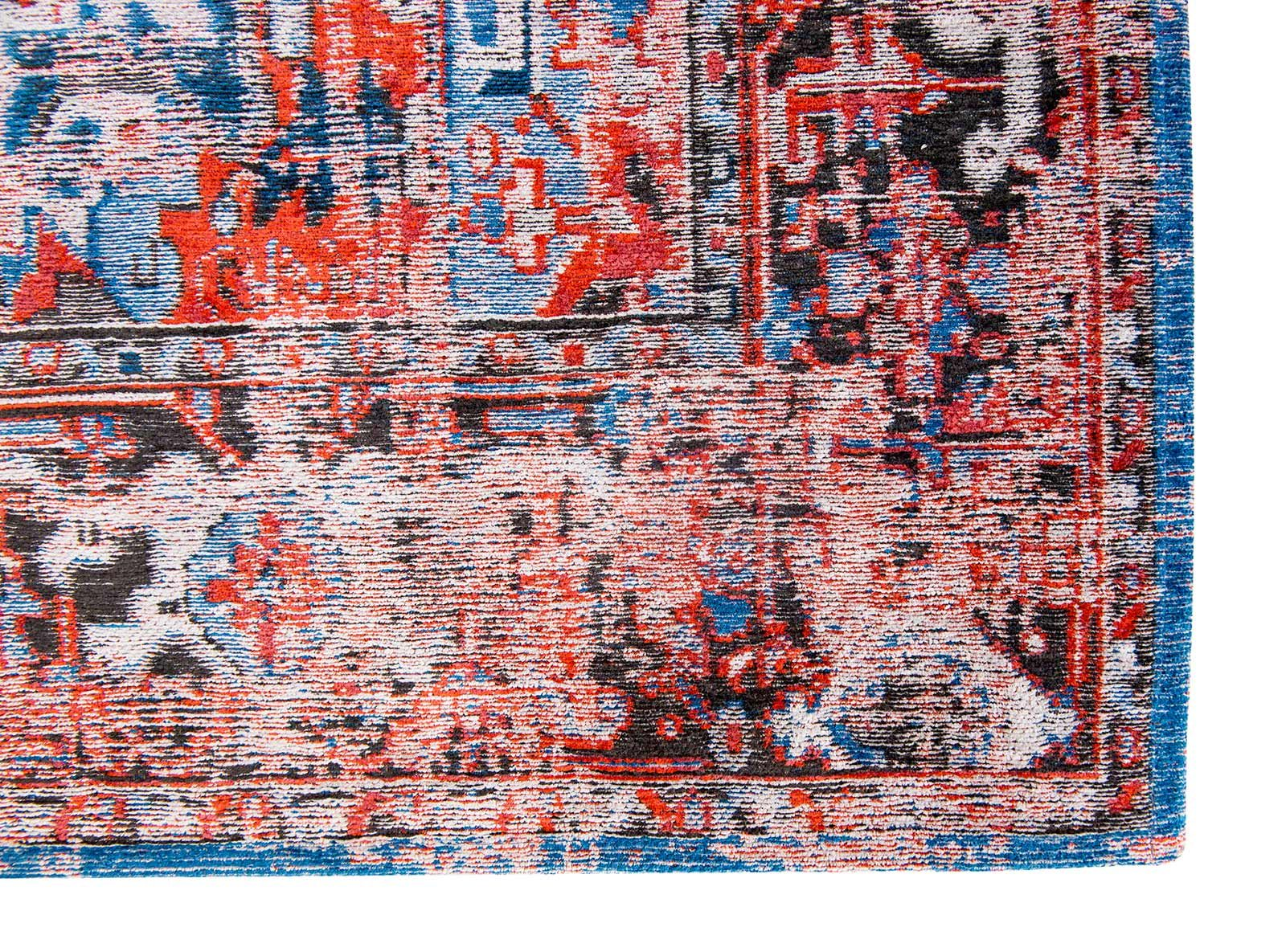 rugs Louis De Poortere LX8703 Antiquarian Antique Heriz Classic Brick corner