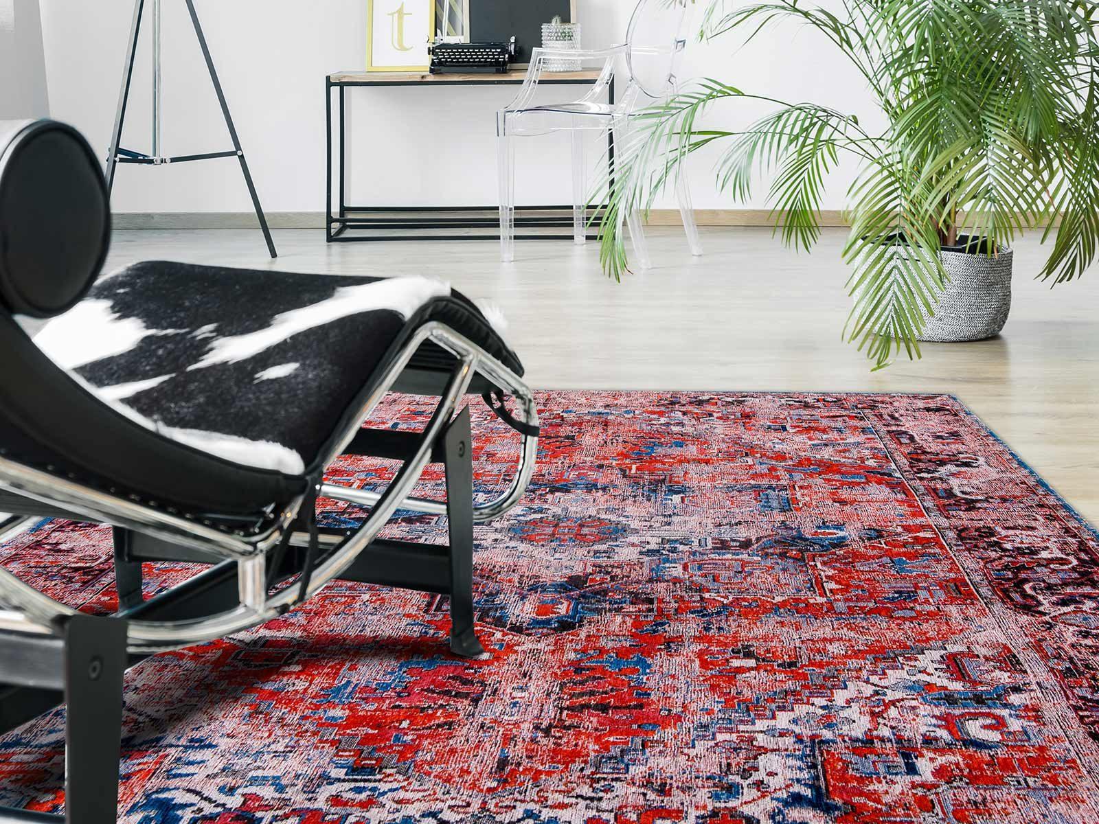 rugs Louis De Poortere LX8703 Antiquarian Antique Heriz Classic Brick interior