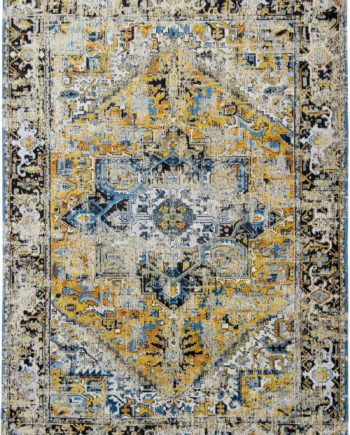 rugs Louis De Poortere LX8704 Antiquarian Antique Heriz Amir Gold