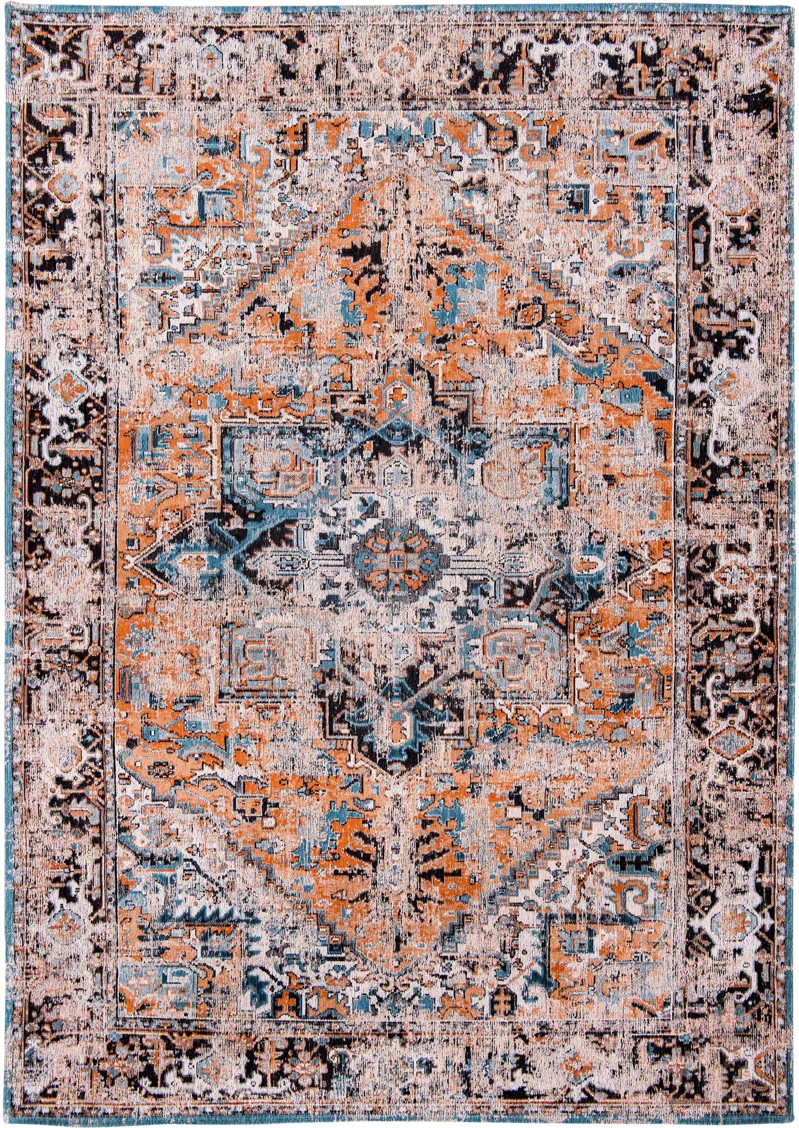 rugs Louis De Poortere LX8705 Antiquarian Antique Heriz Seray Orange