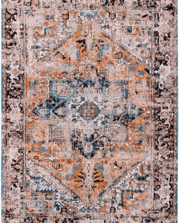 rugs Louis De Poortere LX8705 Antiquarian Antique Heriz Seray Orange