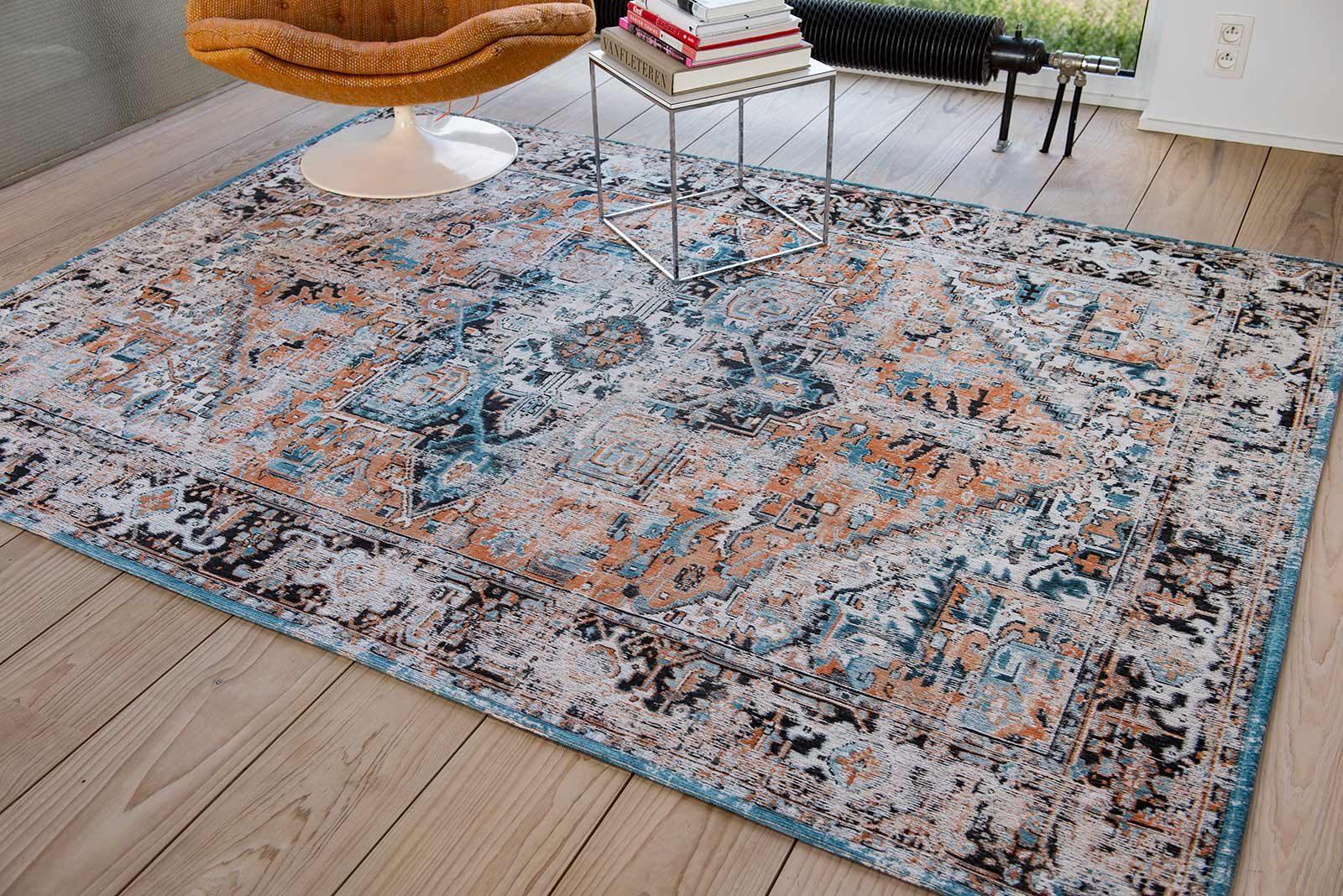 rugs Louis De Poortere LX8705 Antiquarian Antique Heriz Seray Orange interior
