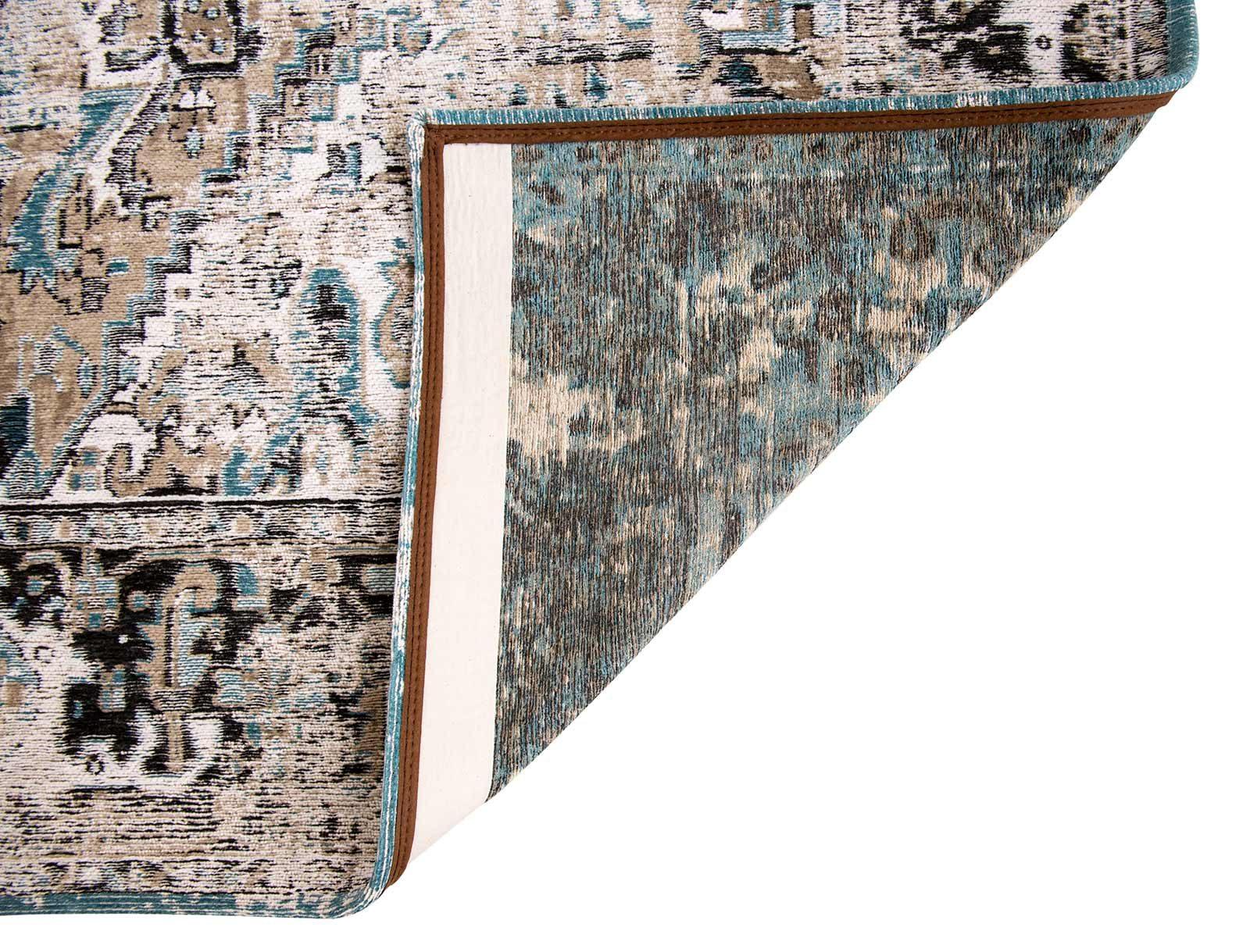 rugs Louis De Poortere LX8708 Antiquarian Antique Heriz Golden Horn Beige back