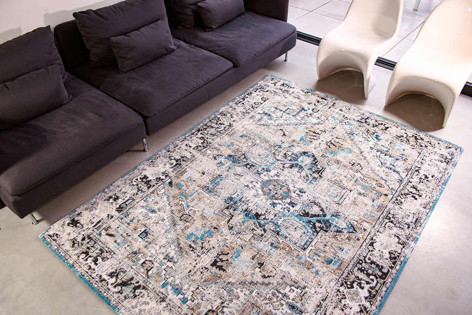 rugs Louis De Poortere LX8708 Antiquarian Antique Heriz Golden Horn Beige interior