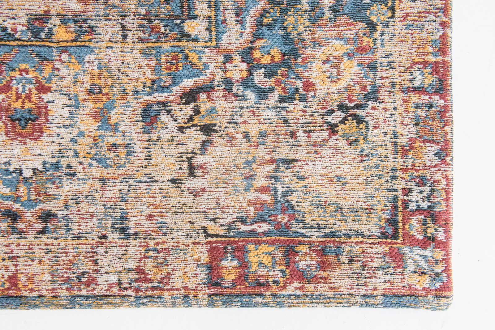 rugs Louis De Poortere LX8713 Antiquarian Antique Bakthiari Khedive Multi corner