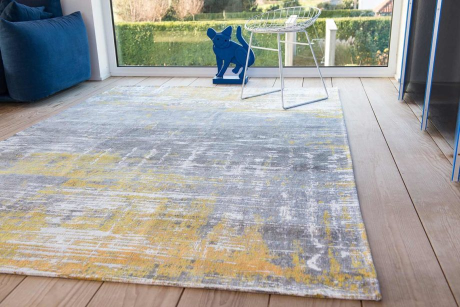 rugs Louis De Poortere LX8715 Atlantic Streaks Sea Bright Sunny interior