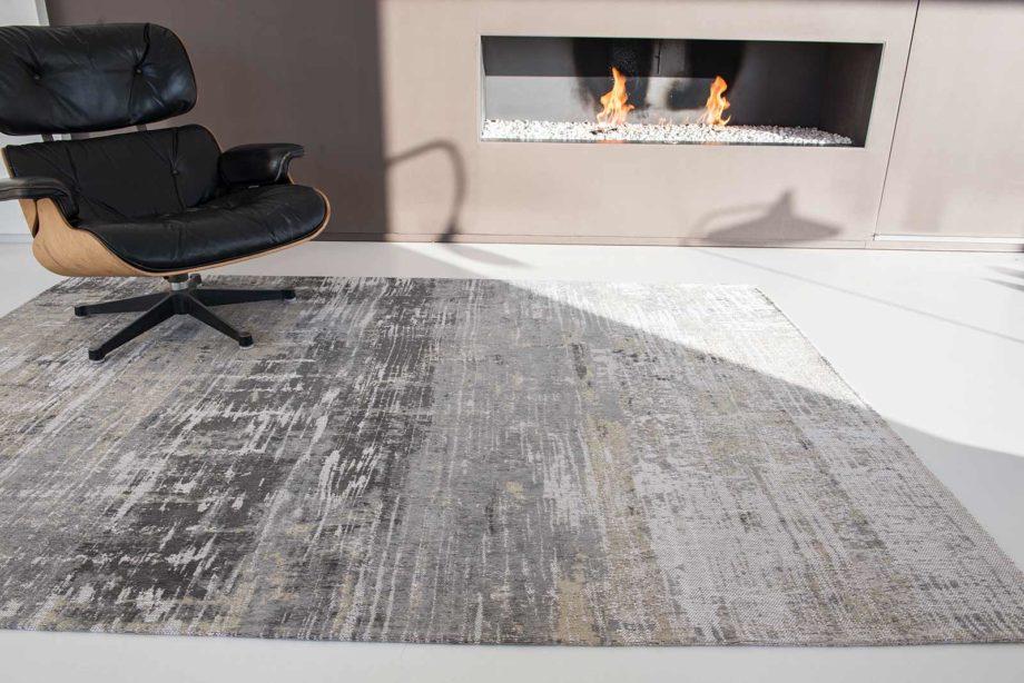 rugs Louis De Poortere LX8716 Atlantic Streaks Coney Grey interior
