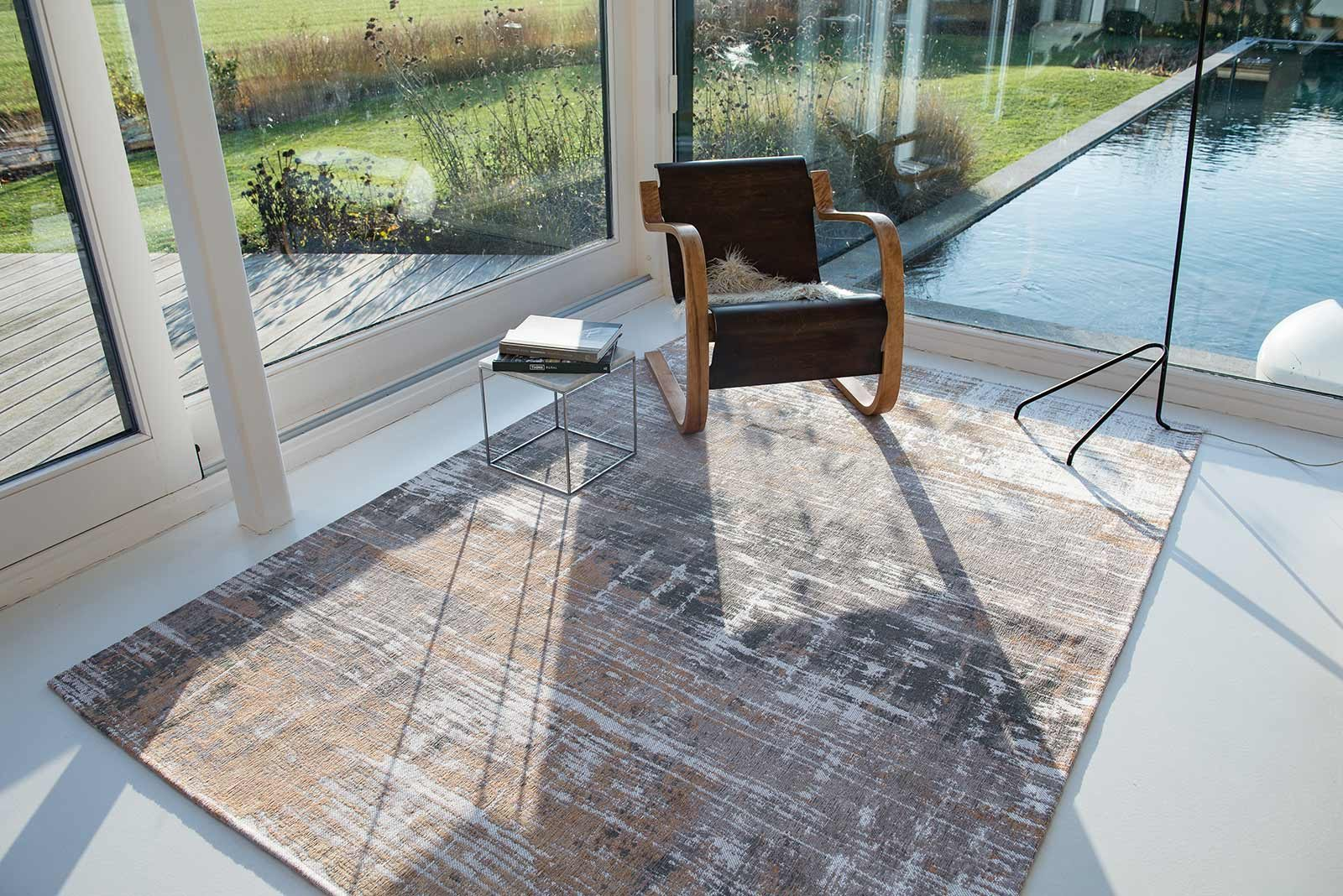 rugs Louis De Poortere LX8717 Atlantic Streaks Parsons Powder interior