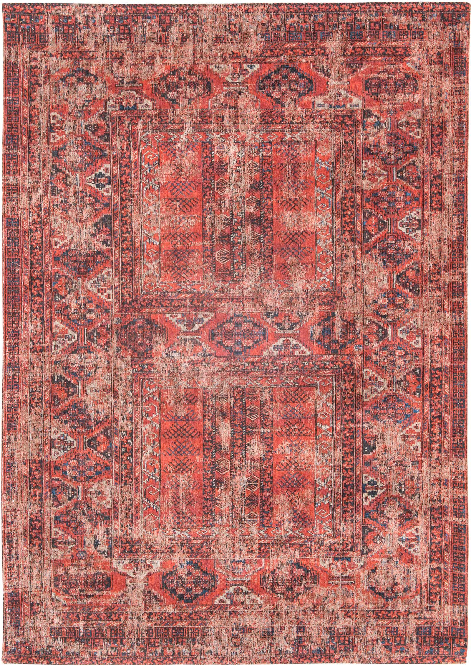 louis de poortere rug antiquarian 7 8 2 red 8719 antiquarian hadschlu design luxury rug shop uk. Black Bedroom Furniture Sets. Home Design Ideas