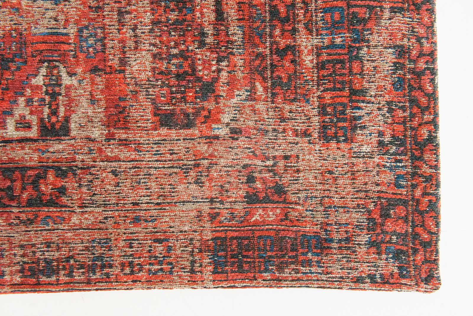 rugs Louis De Poortere LX8719 Antiquarian Antique Hadschlu 782 Red corner