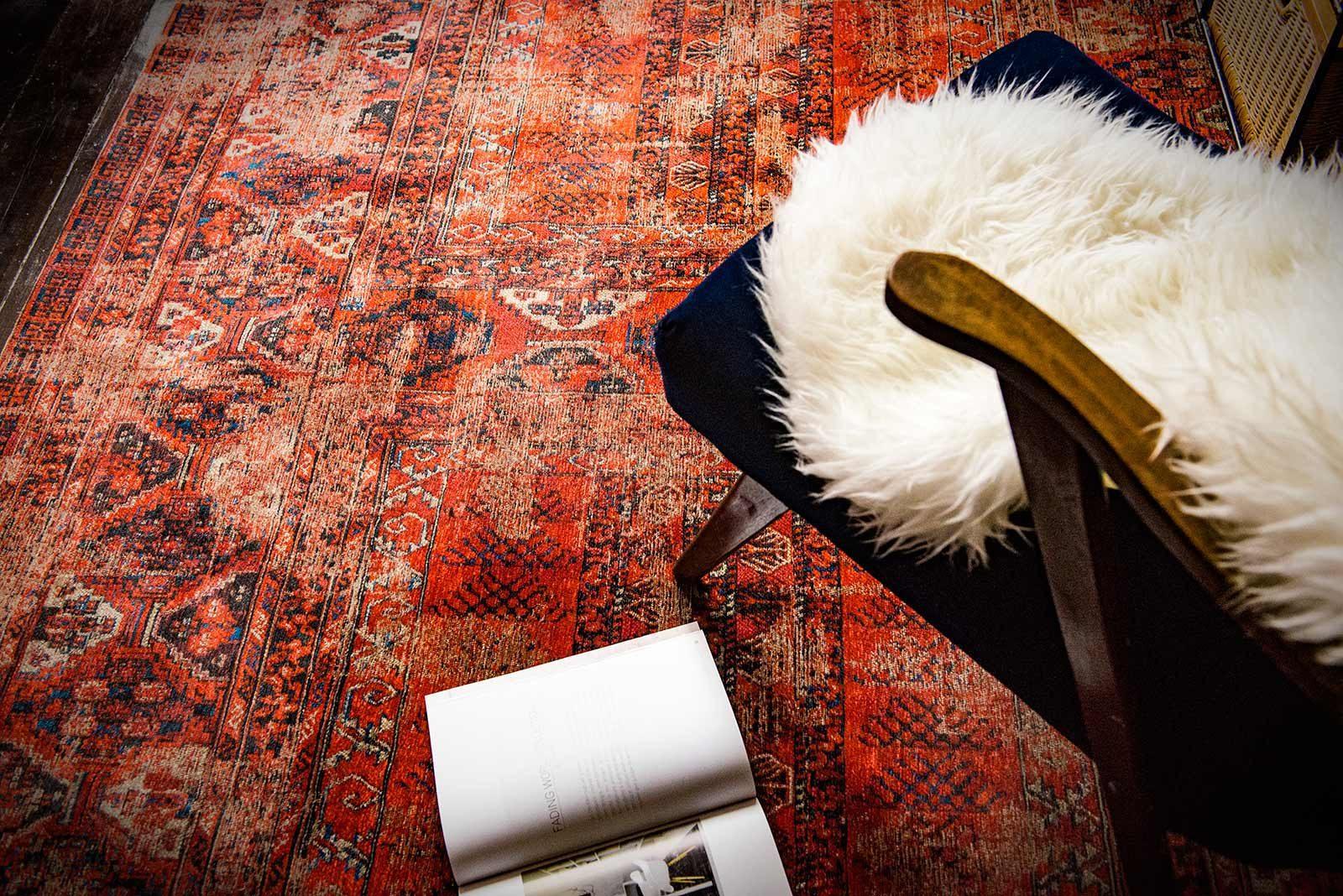 rugs Louis De Poortere LX8719 Antiquarian Antique Hadschlu 782 Red interior