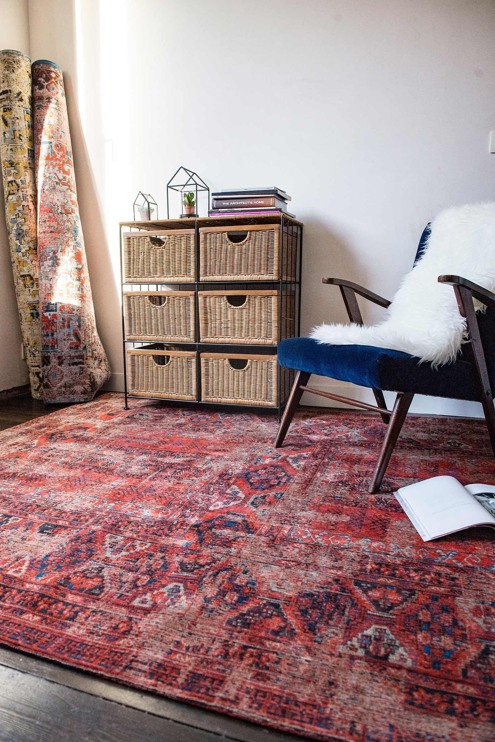 rugs Louis De Poortere LX8719 Antiquarian Antique Hadschlu 782 Red interior 2