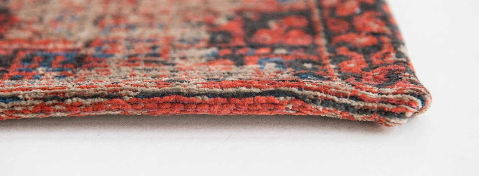 rugs Louis De Poortere LX8719 Antiquarian Antique Hadschlu 782 Red side