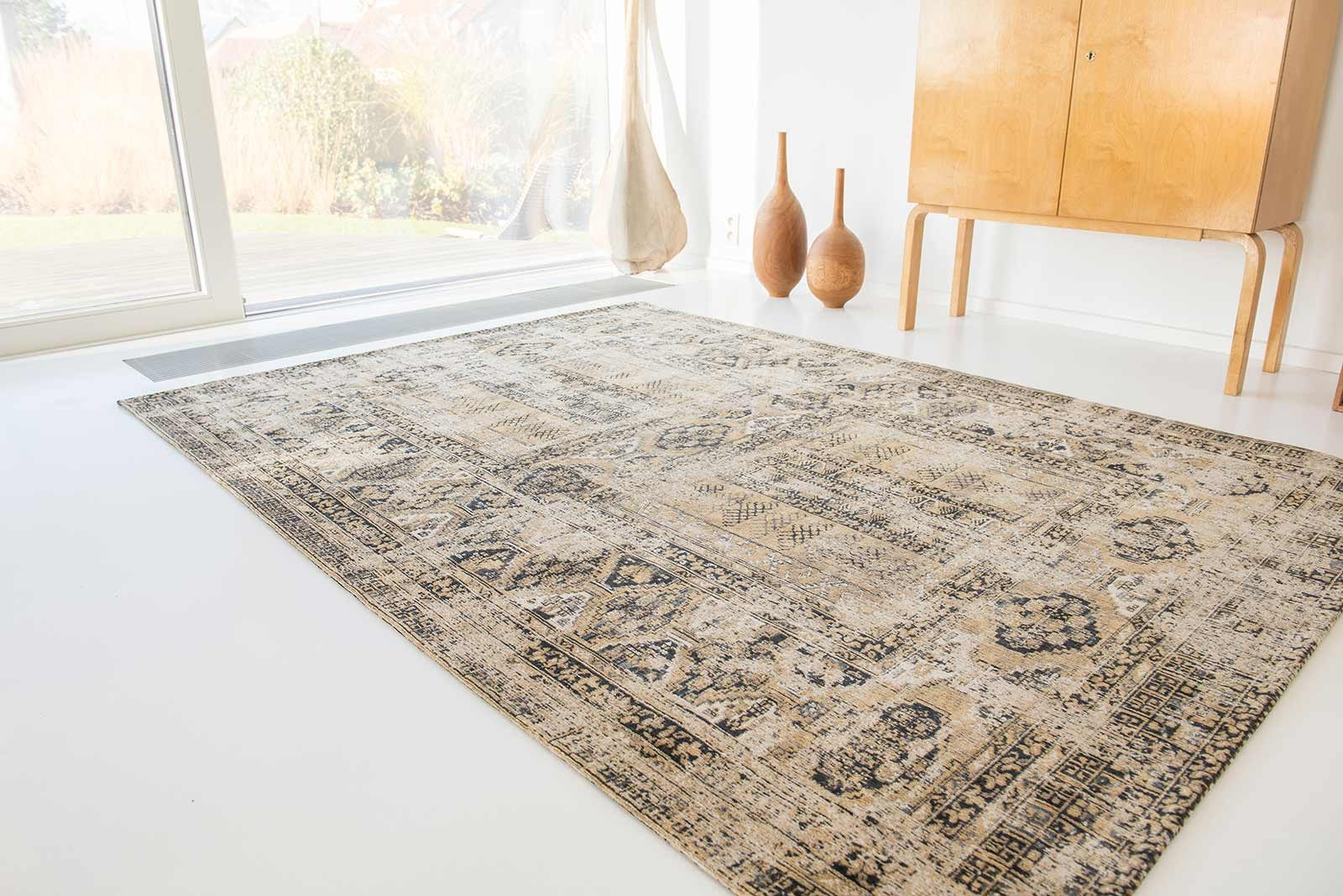 rugs Louis De Poortere LX8720 Antiquarian Antique Hadschlu Agha Old Gold interior